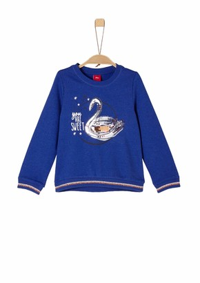 S'Oliver Girls' 53.809.41.7855 Sweatshirt