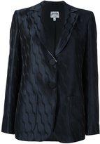 Armani Collezioni jacquard blazer
