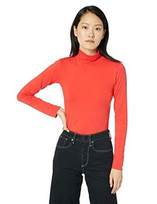 Calvin Klein Jeans Women's Long Sleeve Turtleneck Sweater