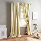 DKNY Front Row 63-Inch Back Tab Window Curtain Panel in Sunshine