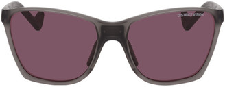 District Vision Grey and Pink Keiichi Sunglasses