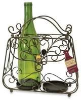 Boston Warehouse Vineyard Road Purse Wine Bottle Holder