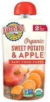 Earth Earth's Best Organic Stage 2 Sweet Potato Apple Baby Food - 4oz