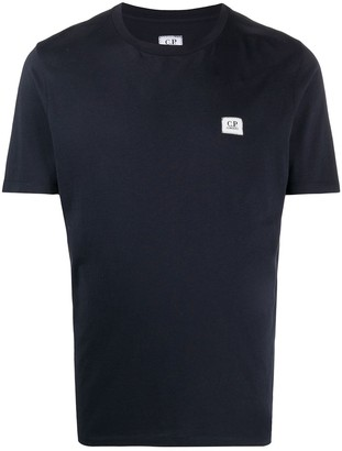 C.P. Company logo patch T-shirt