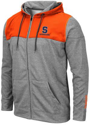 Colosseum Men Syracuse Orange Nelson Full-Zip Hooded Sweatshirt
