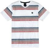 Zoo York Short Sleeve V Neck T-Shirt-Big Kid Boys
