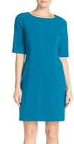 Tahari Seamed A-Line Dress