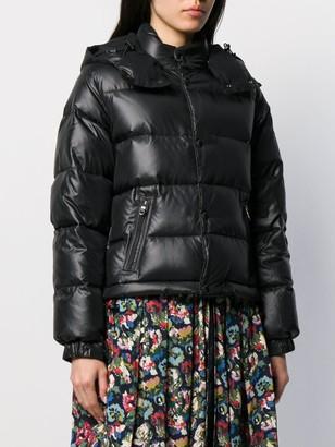Junya Watanabe Contrast Zipped Parka Coat