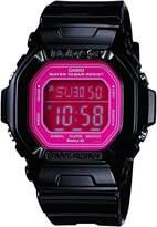 Casio Women's BG5601-1DR Baby-G Square Luminous Color Dial Watch