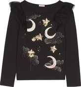 Billieblush Billie Blush Star & moon long-sleeved top 4-12 years