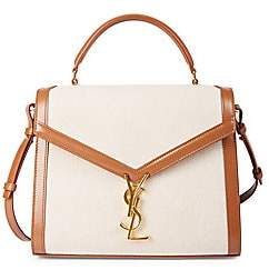 Saint Laurent Women's Mini Cassandra Canvas Satchel