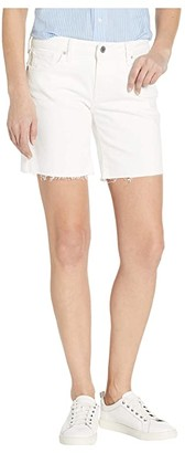 Lucky Brand Roll Up Shorts in Clean White (Clean White) Women's Shorts