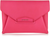 Givenchy Antigona Envelope grained-leather clutch
