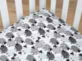 NoJo Good Night Sheep Fitted Standard Size Crib Sheet