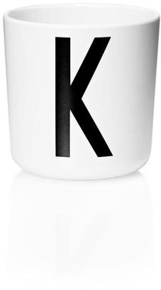 Design Letters Personal Melamine Cup - K