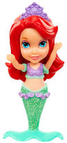 Disney Princess Mini Toddler Sparkle Ariel Figure