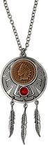 American Coin Treasures Indian Cent Dream Catcher Coin Pendan