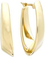 Macy's 14k Gold Earrings, Visor Earrings