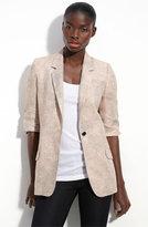 'James' Distressed Linen Blazer