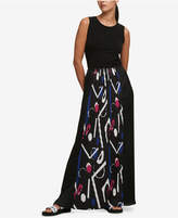 DKNY Pleated Maxi Dress, Created for Macy's