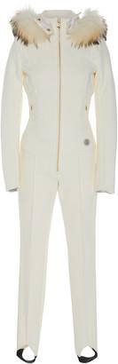 Bogner Fur-Trimmed Shell Ski Suit