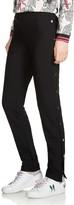 Maje Prune Side-Snap Pants