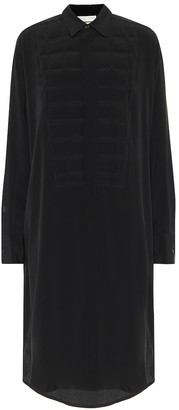 Bottega Veneta Quilted silk crepe de chine dress