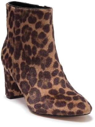 Nine West Trin Faux Fur Cheetah Print Ankle Boot