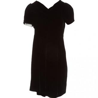 Marc by Marc Jacobs Black Velvet Dresses