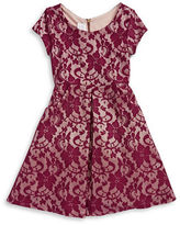 Iris & Ivy Girls 2-6x Lace A-Line Dress