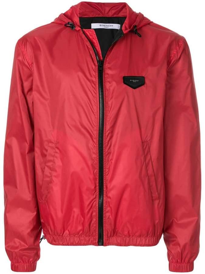 Givenchy logo zipped jacket
