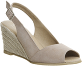 Office Morning Slingback Espadrille Wedges