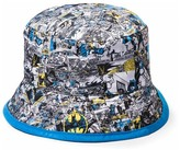 Batman Boys' Batman' Bucket Hat - Black One Size