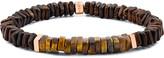 Tateossian Men's Tiger Eye Bead Bracelet