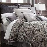 Royal Velvet Lourdes Comforter Set & Accessories Black/gray