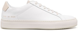 Common Projects Panel Detailing Lace-Up Sneakers
