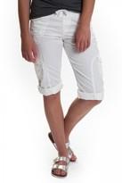 UNIONBAY Janet Knit Waist Cargo Skimmer Short