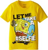 SpongeBob Squarepants Big Boys' Let Me Take A Selfie Short Sleeve Tee