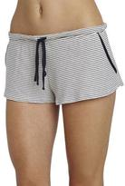 Eberjey Striped Lounge Shorts, Moonlit Blue