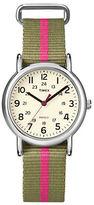 Timex Ladies Weekender Silvertone Watch