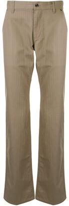 Durban Pinstripe Chino Trousers