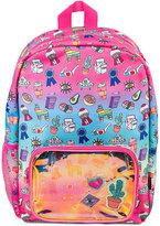 Fashion Angels Gradient Doodle Backpack, Little Girls (2-6X) & Big Girls (7-16)