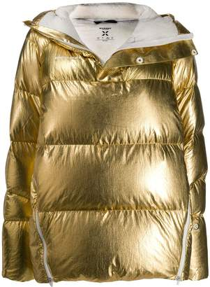 Mammut metallic puffer jacket