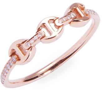 Hoorsenbuhs Micro Makers Dame 18K Yellow Gold & Diamond Eternity Ring