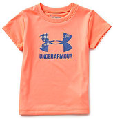 Under Armour Baby Girls 12-24 Months Big Logo Short-Sleeve Graphic Tee