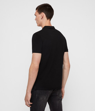 AllSaints Reform Short Sleeve Polo Shirt