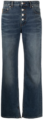 Ganni Boyfriend Denim Cotton Jeans