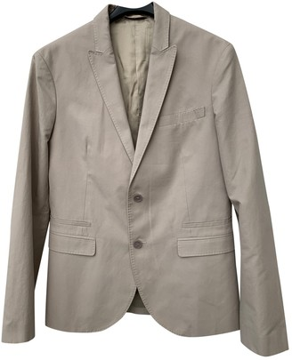 Neil Barrett Beige Cotton Jackets