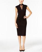 ECI Ponte Sheath Dress