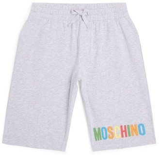 Moschino Kids Rainbow Logo Sweatshorts (4-8 Years)